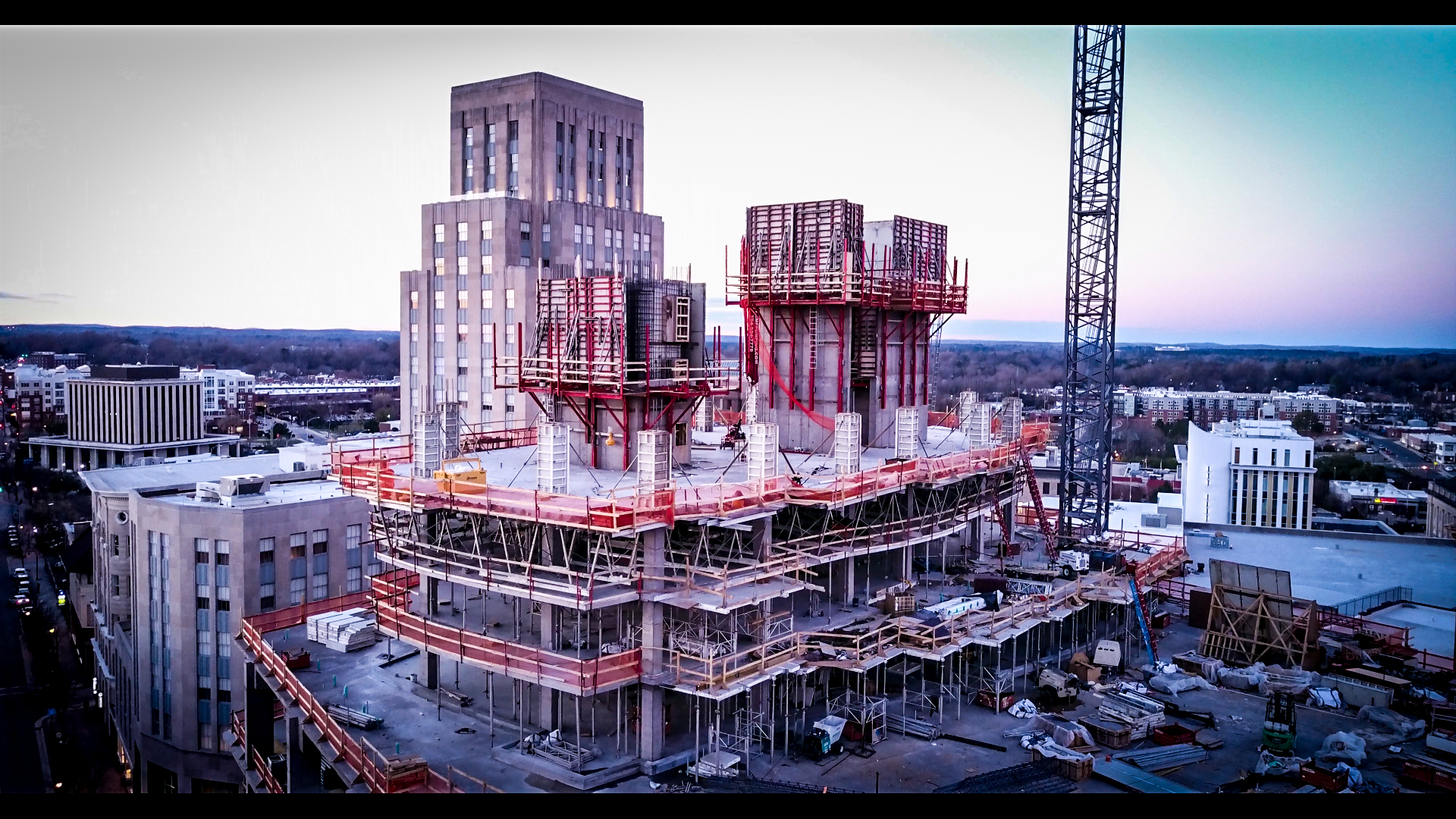 One City Center Downtown Durham Drone 3 Pascal Monmoine