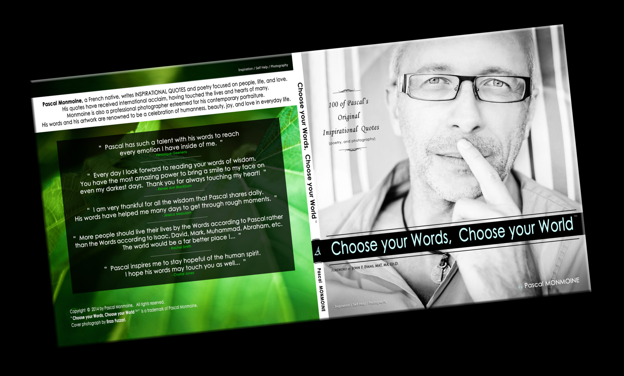 Cover Book Pascal Choose your words